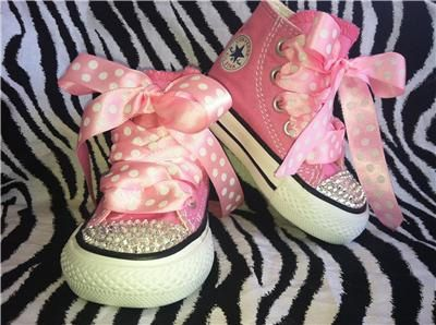 58637493578b Pink Custom Converse Chuck Taylor All star by CoutureConverse ...