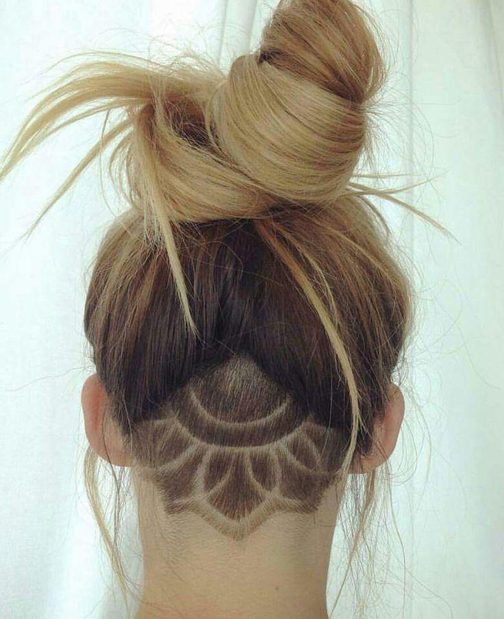 Image Result For Undercut Back Of Head Fine Hair Women Hair Cut