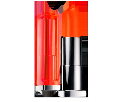 Color Sensational Vivids Electric Orange Maybelline Color Sensational Orange Lipstick Color Sensational