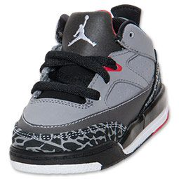 new styles 42ab9 8ea80 Boys  Toddler Jordan Son of Mars Low Basketball Shoes   FinishLine.com    Cement Grey White Black Fire Red