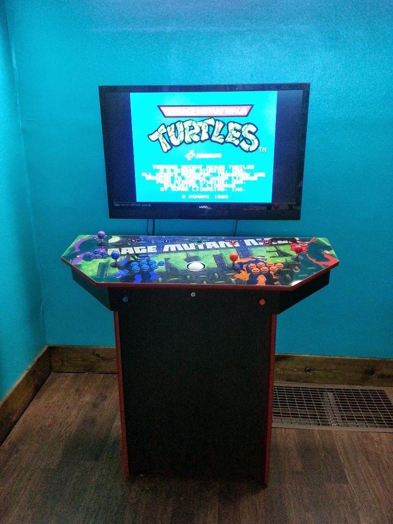 4 Player Pedestal Arcade Cabinet For Mame Arcade