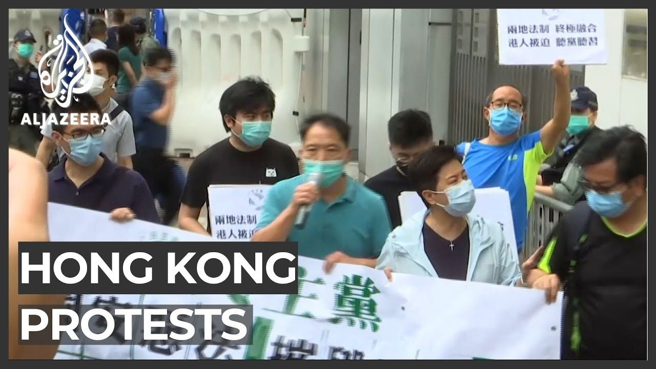 Hong Kong Braces For Protests Over New China Security Law In 2020 Protest Hong Kong New China