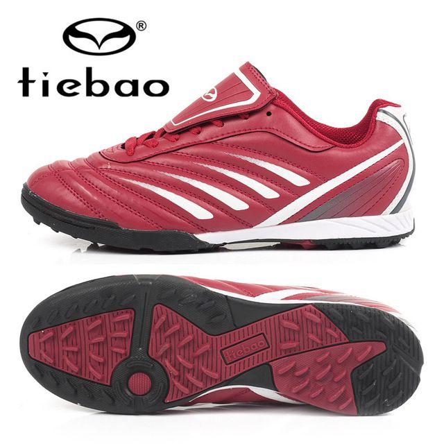 57569bfba Profesionales TIEBAO zapatos de fútbol al aire hombres mujeres TF Turf  suela de goma botas de fútbol adultos atlético entrenamiento botas de futbol