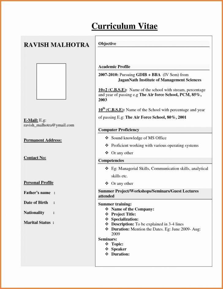 Format Resume Kerja Kerajaan Resumeformat Resume Format For Freshers Best Resume Format Resume Format Free Download