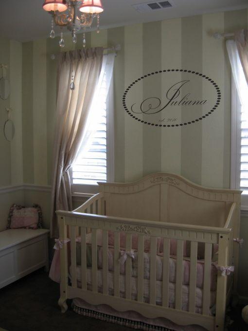 Juju S Elegant Nursery Baby Furniture Elegant Nursery Striped