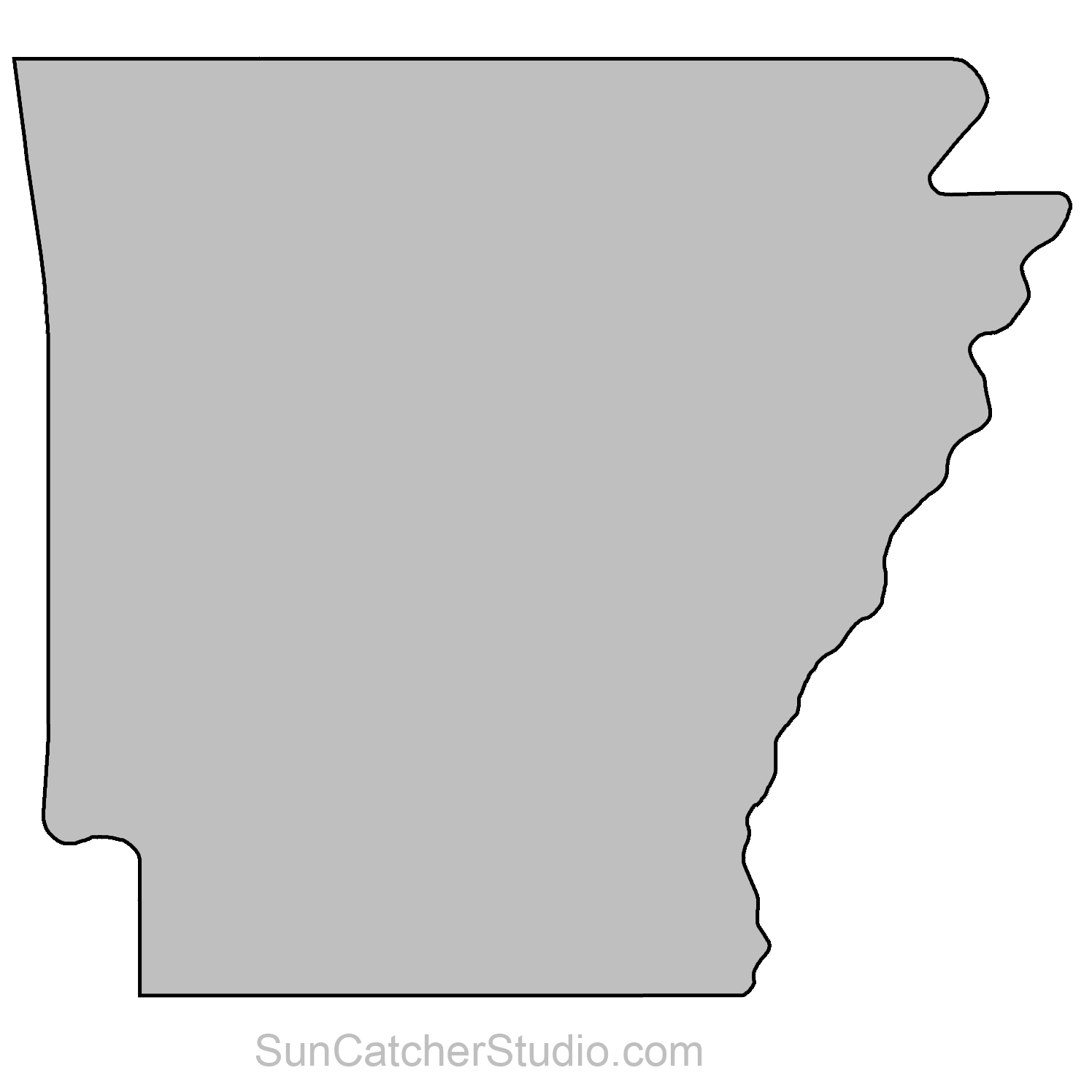 State Outlines Maps Stencils Patterns Clip Art All 50 States State Crafts Map Outline State Outline