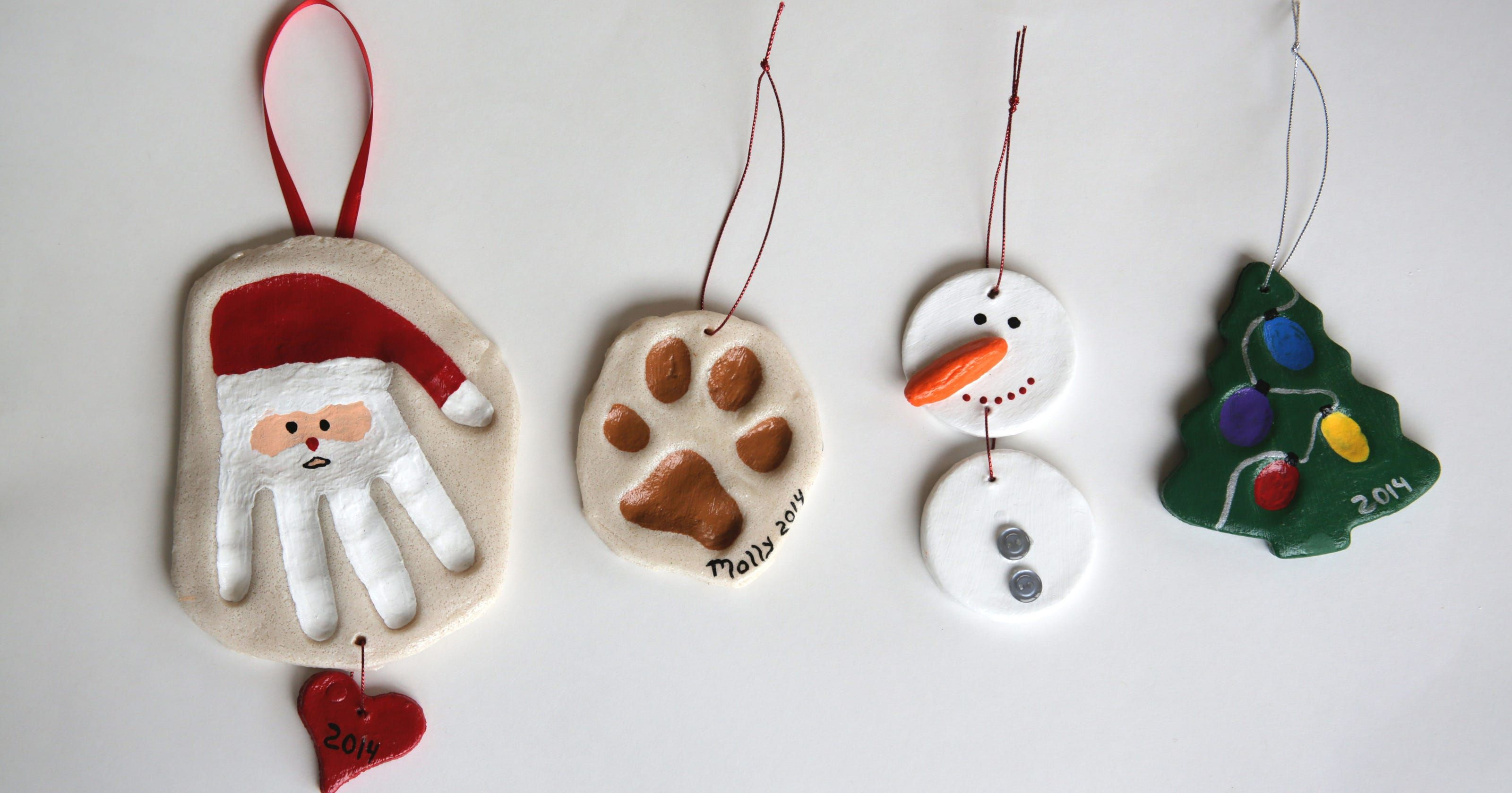 Get creative with salt dough ornaments #deconoelmaternelle