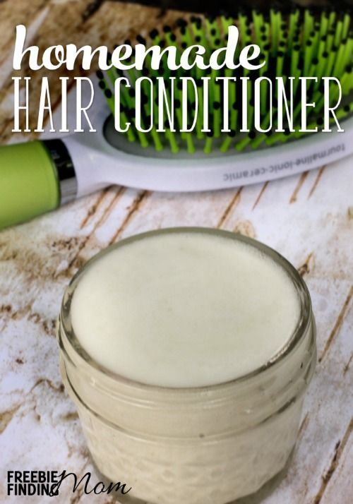 4 Ingredient Homemade Conditioner For Natural Hair