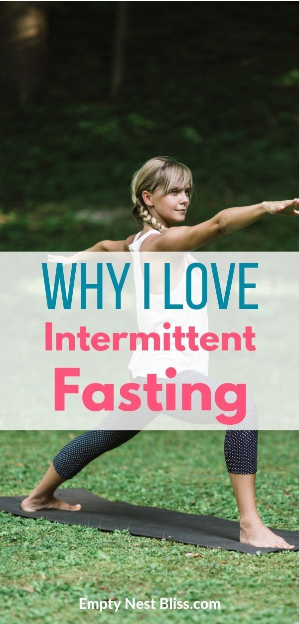 I love intermittent fasting for weight loss because I can eat anything I want - I just have to limit...