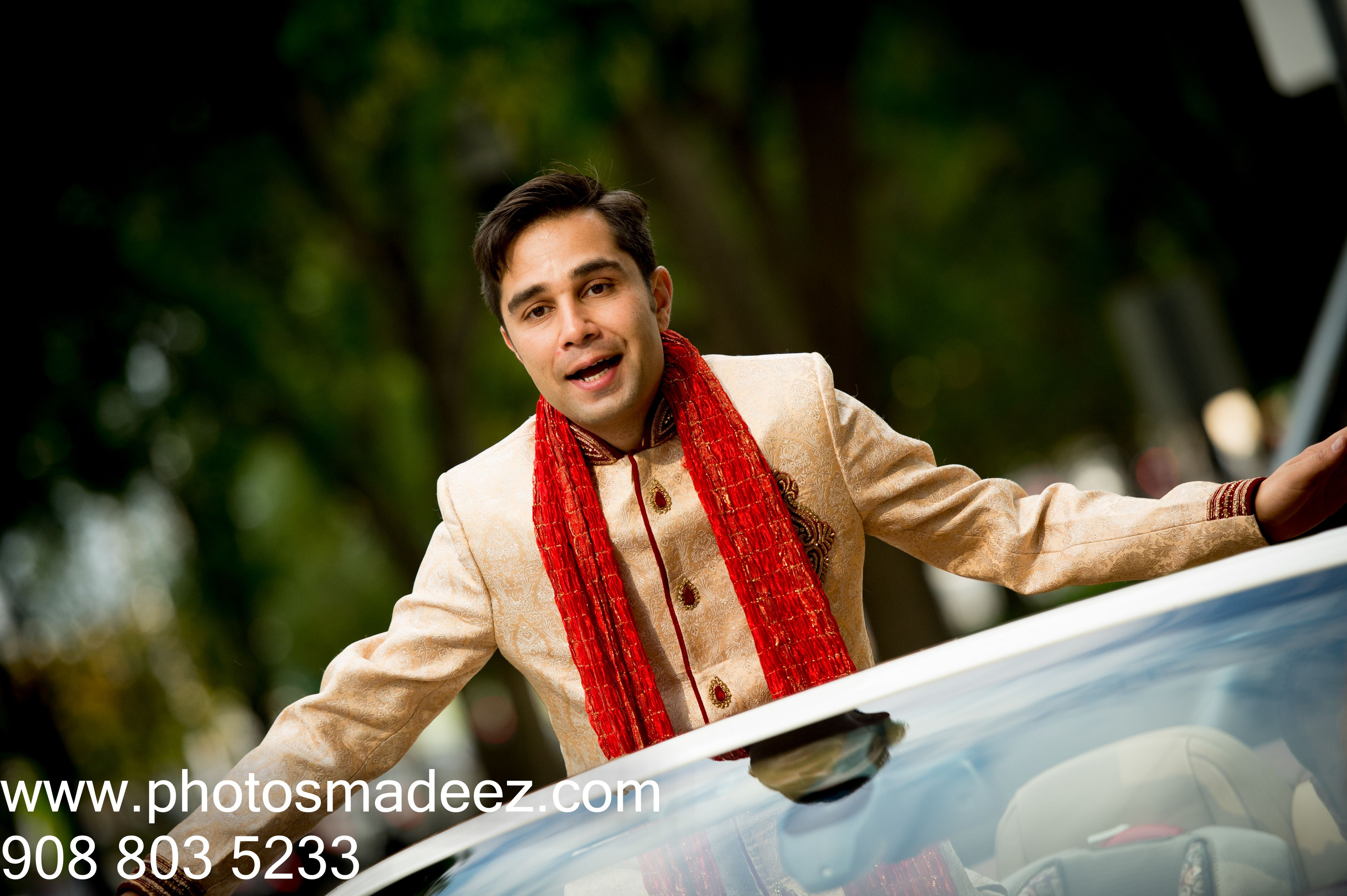 Baraat for Hindu Wedding Ceremony at Westin Jersey City With DJ