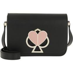 Photo of Kate Spade New York Nicola Twistlock Small Flap Shoulder Bag Black in black sac à bandoulière pour femme