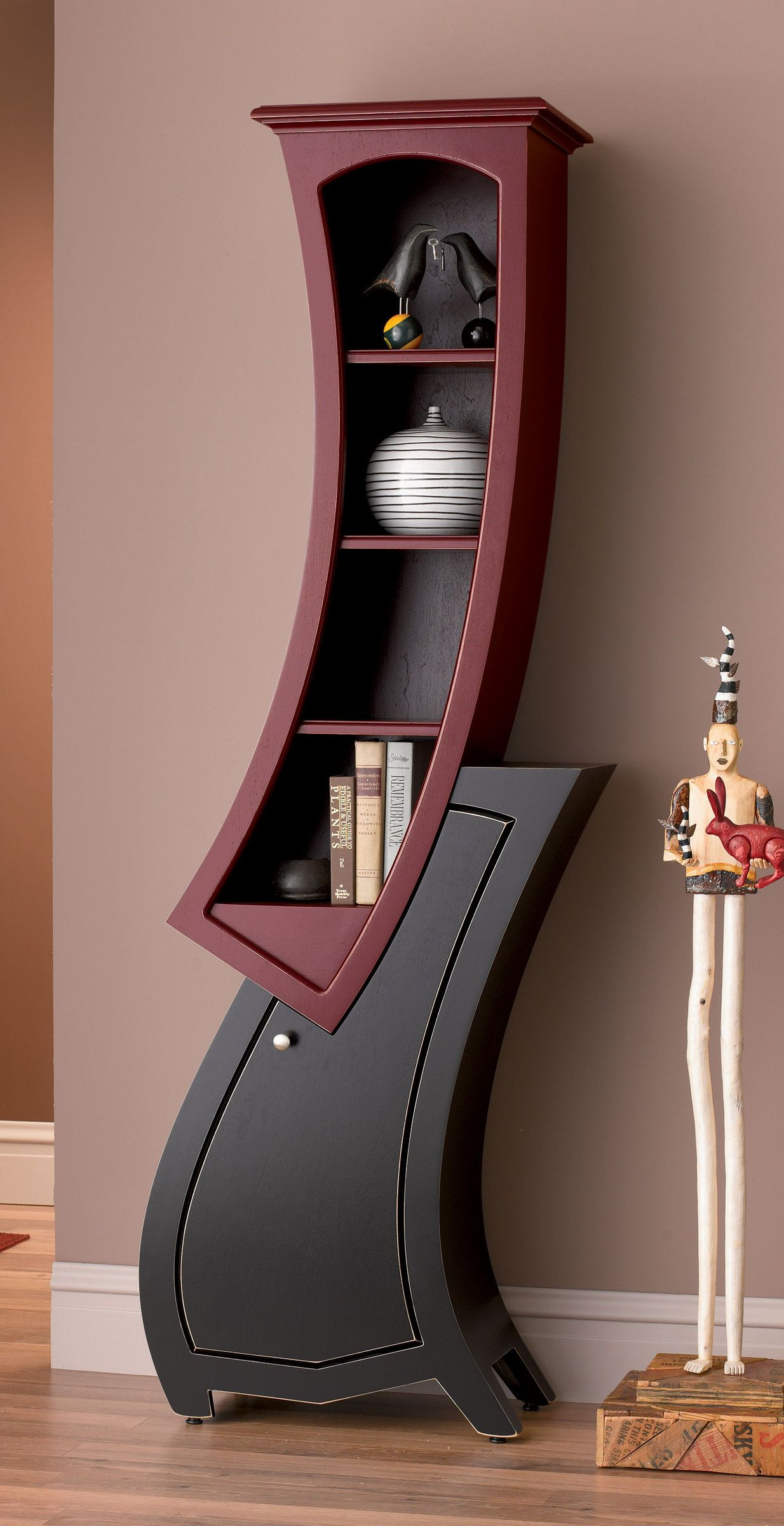 stacked cabinet no 7 by vincent leman wood cabinet available at www artfulhome com