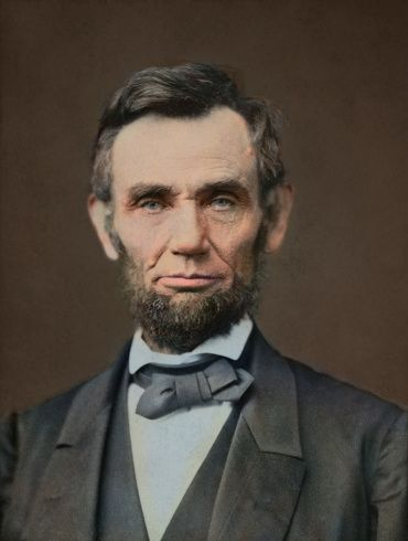 Abraham Lincoln 1809 1865 Republican National Union Office 3 4 1861 To 15