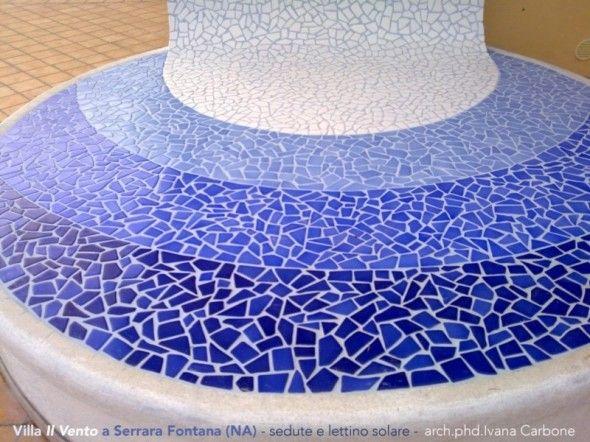 Ceramiche Vietresi Solarium terrace in the island of Ischia