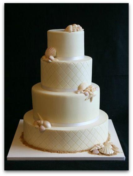 Gallery Of Beach Theme Wedding Cakes Beach Theme Wedding Cakes