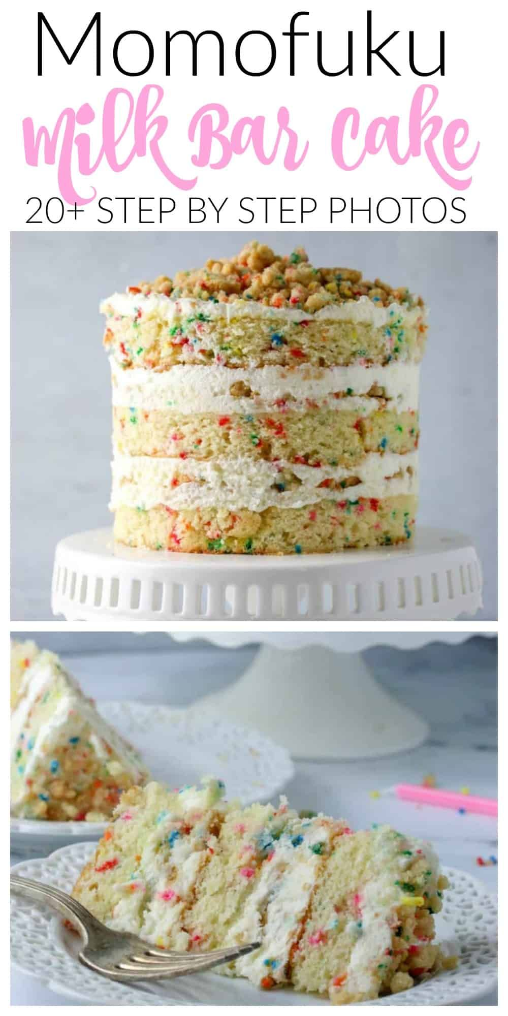 Momofuku Milk Bar Birthday Cake Recipe in 2020 Milk
