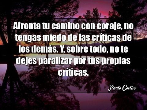 Frase Motivación Paulo Coelho