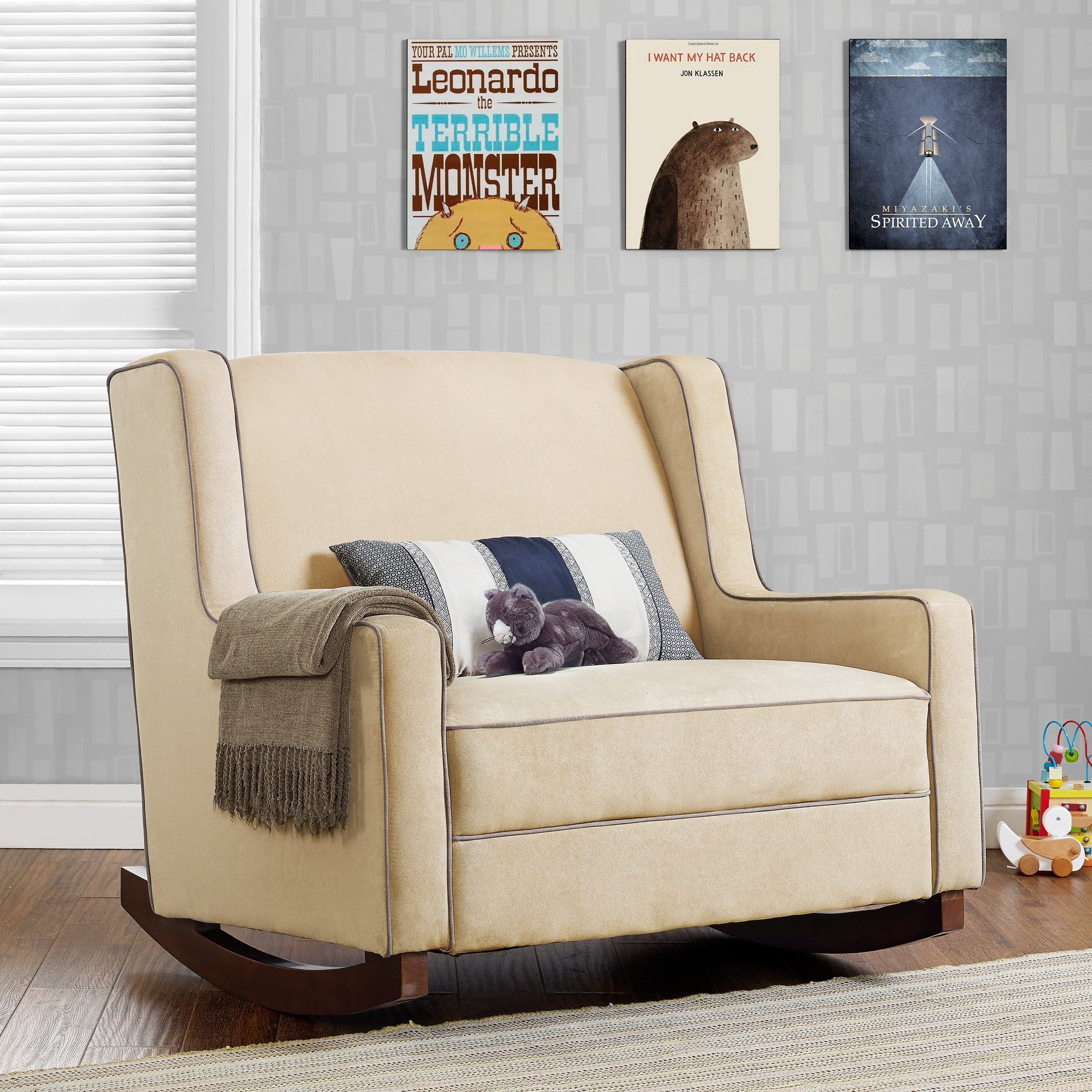 The Baby Relax Hadley Double Rocker Helps You Carve Out Together Time In  Comfort.