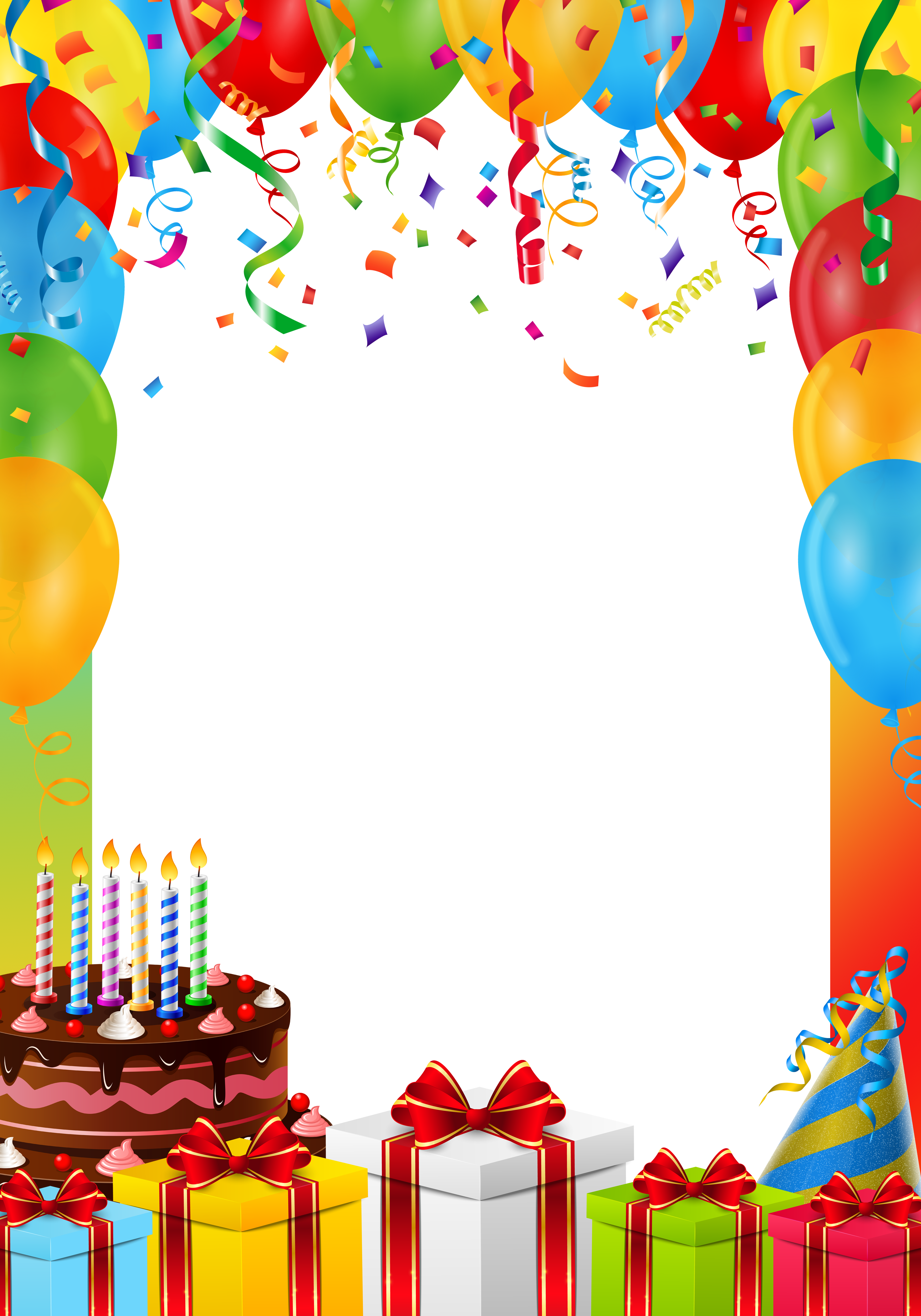 birthday frame png transparent image  gallery