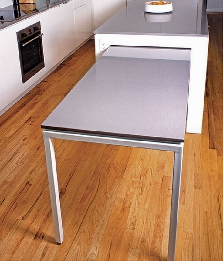 Cozy Kitchen Island With Slide Out Table Small Kitchen Tables Tiny Kitchen Cozy Kitchen