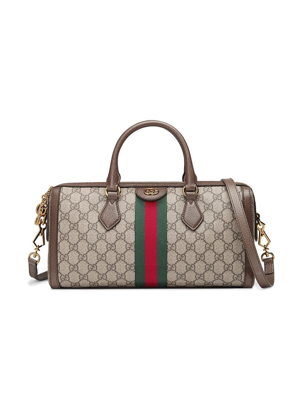 99f0ab2aa Gucci Ophidia GG medium top handle bag - Neutrals in 2019 | Products ...