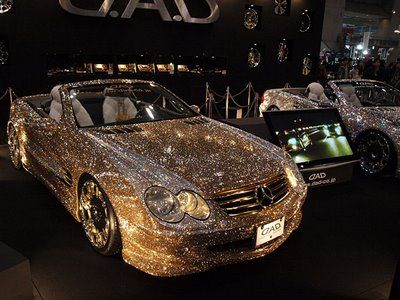 Crystal Mercedes-Benz SL600 at Tokyo Auto Salon 2009 - 5Pics+Video | Curious, Funny Photos / Pictures