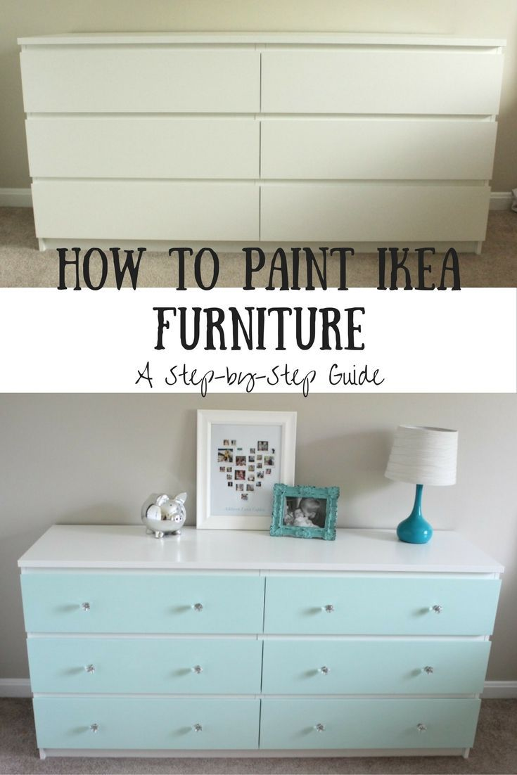how to paint ikea furniture umr umen 2018 in 2019. Black Bedroom Furniture Sets. Home Design Ideas