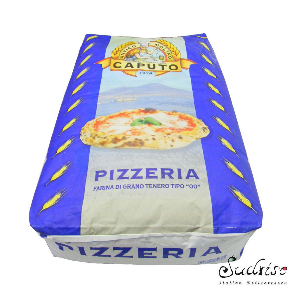Farina Caputo Blu 25kg Farina Per Pizza Farina Di Grano Tenero 00  # Muebles Pizzeria