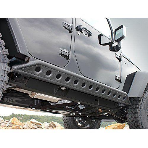 Amazon Com E Autogrilles 07 16 Jeep Wrangler Jk Wide Pocket Rivet