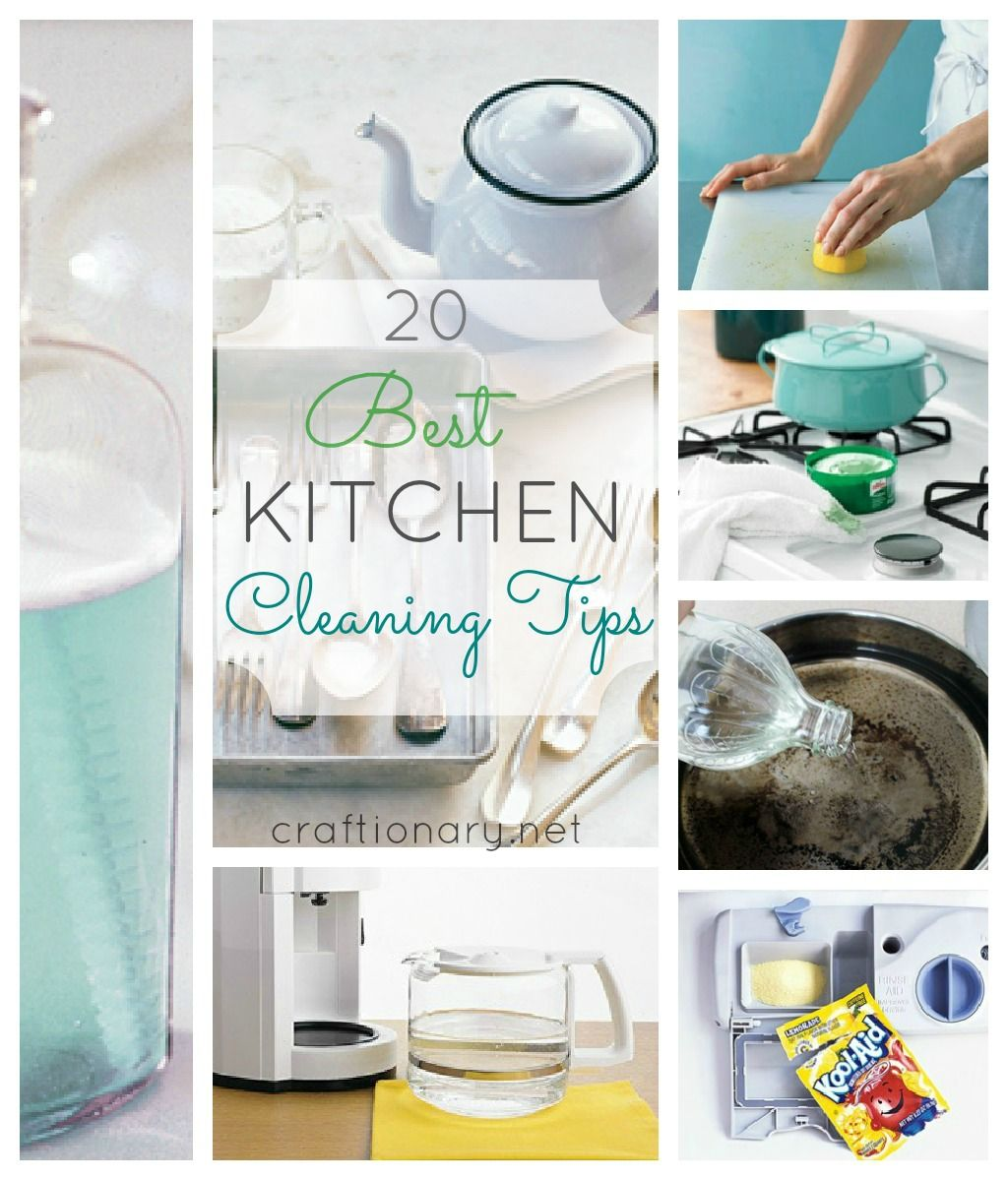 Kitchen Cleaning Tips Design Ideas