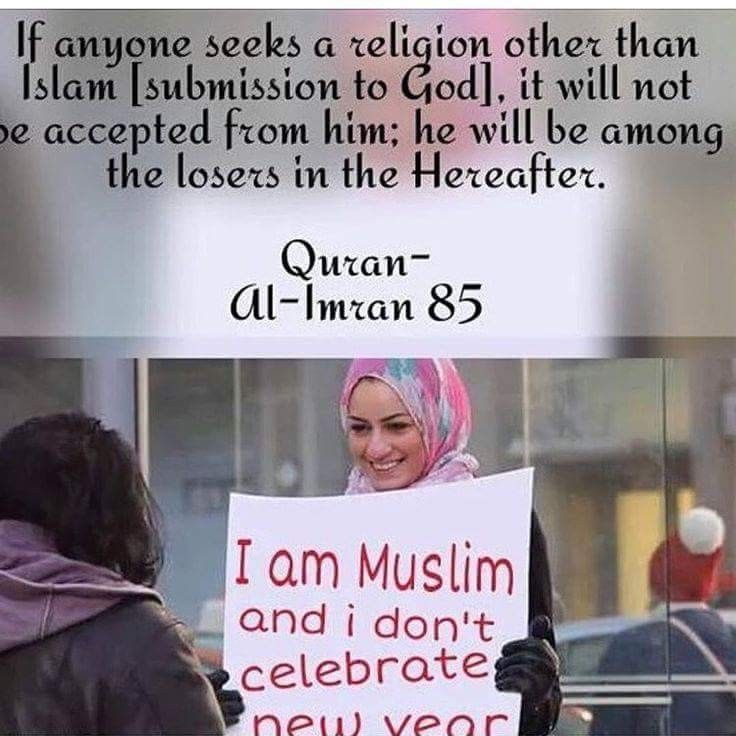 CELEBRATING THE NEW YEAR If a non-Muslim greets a Muslim ...