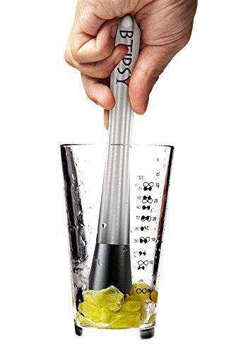 Btipsy Professional Cocktail Muddler Bar Tool - Premium Quality Stainless Steel Drink Muddler of 304 Grade Btipsy http://www.amazon.com/dp/B00N78WAQO/ref=cm_sw_r_pi_dp_VFlvub0RRZMTP