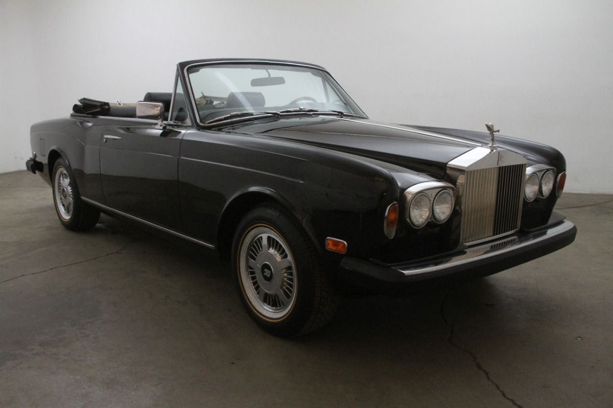 1976 Rolls Royce Corniche Convertible Beverly Hills Car