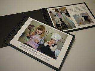 For Father's Day this year we made a little book about two little chefs who make breakfast for their Daddy :)