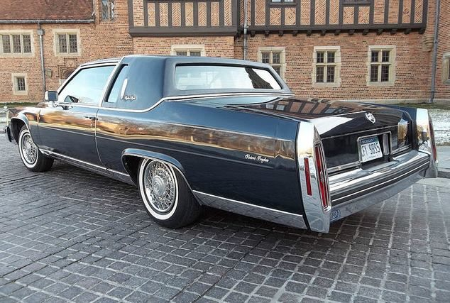 1984 Cadillac Fleetwood Brougham D Elegance Coupe For Goldie