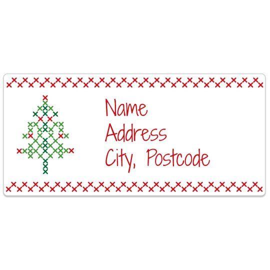 Cross Stitch Xmas Avery Template Designs For Christmas Christmas