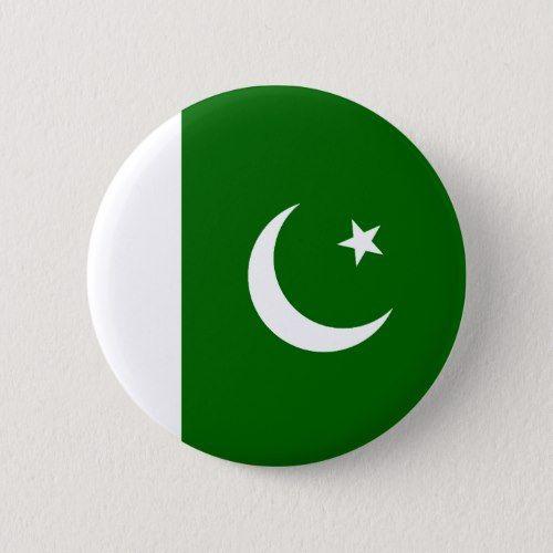 Pakistan Flag Button Zazzle Com Pakistan Flag Pakistani Flag Pakistan Flag Hd