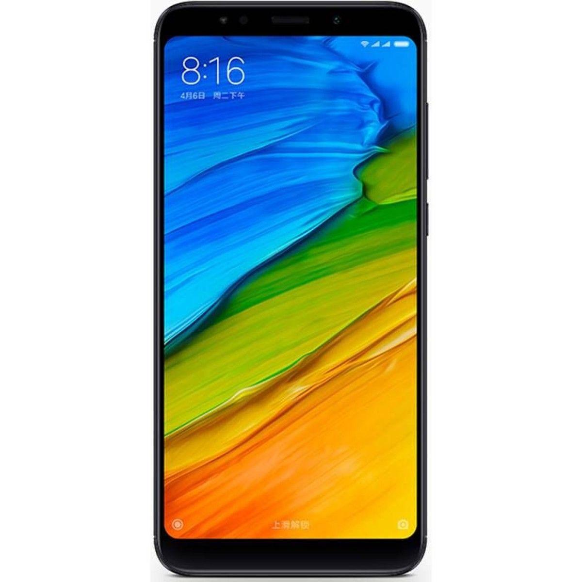 Smartphone Xiaomi Redmi 5 Plus Double Sim 64go 4go Ram Taille Tu En 2019 Android Phone Telephones Portables Et Portable