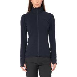 Photo of Icebreaker Descender Ls Zip Ladies Wool Jacket blue L IcebreakerIcebreaker