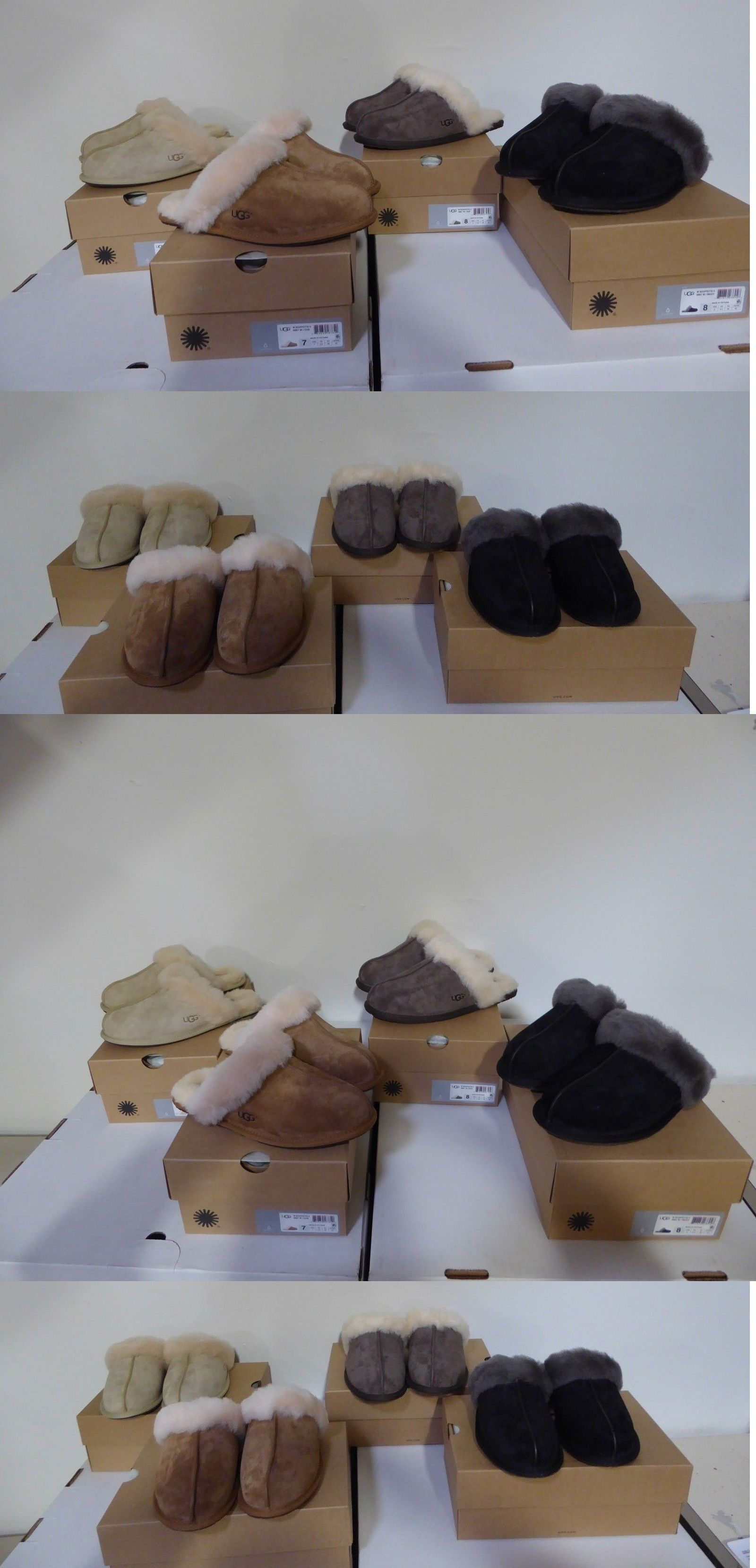 38d650fa61a2 Slippers 11632  New- Women S Ugg Scuffette Ii Slippers Asst Size And Colors  Style 5661