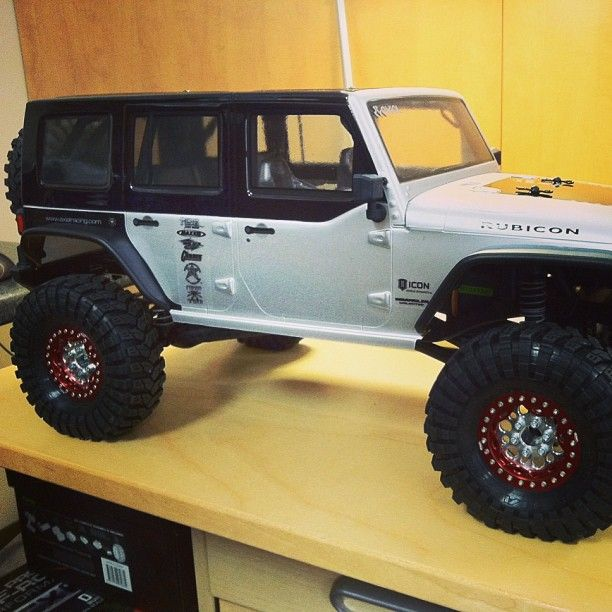 Jeep Kit Hard Top Painted Black On Rtr Scx10 Jk Gives It A