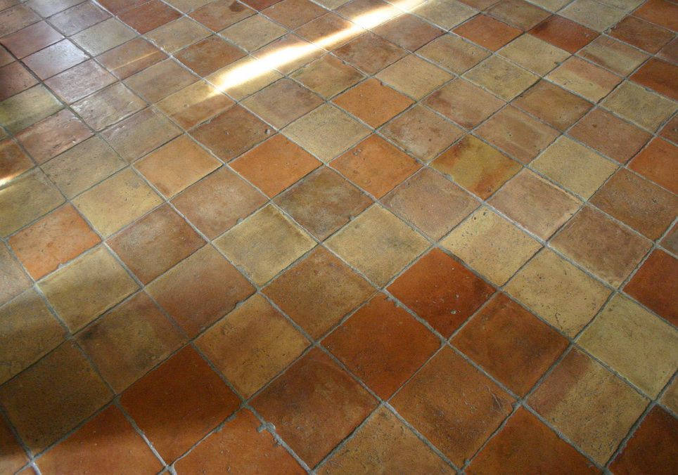 Tile Floor Flooring Terracotta