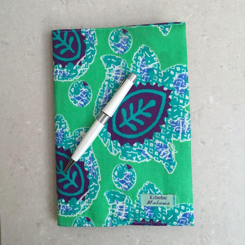 Mayamiko   Green African Print Journal