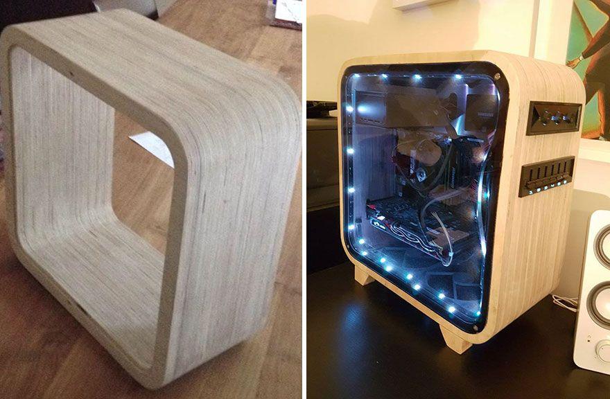 die besten 25 computer diy ideen auf pinterest computerschreibtisch f r spiele. Black Bedroom Furniture Sets. Home Design Ideas
