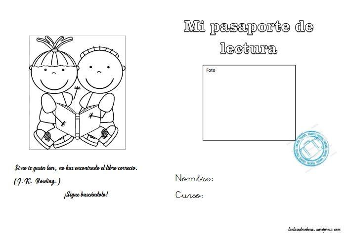 Pasaporte De Lectura Primaria Lengua Lectura Aprender Las Tablas De Multiplicar Pasaporte