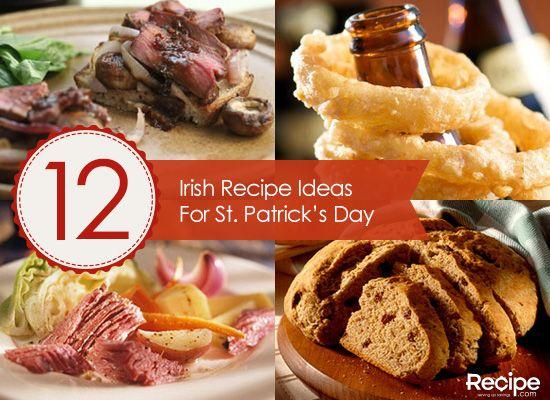 12 irish recipe ideas for st patricks day food and drink 12 irish recipe ideas for st patricks day forumfinder Choice Image