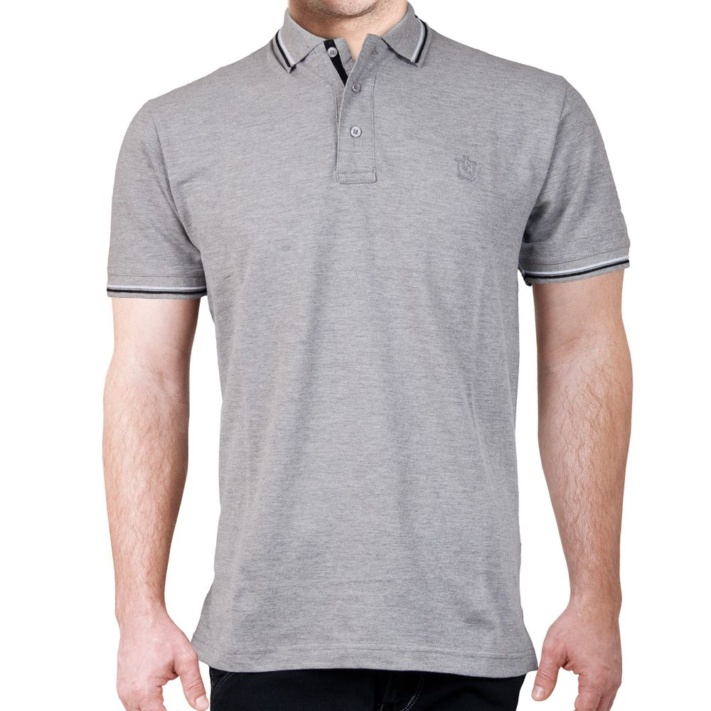 618e07a9 Grey Plain Polo T-Shirt PP PP03 GY in Pakistan | Men Wear In ...