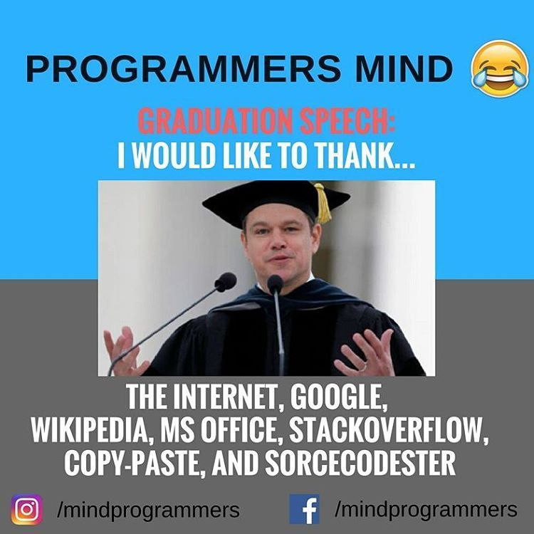 Programmers Mind Graduation Speech Programmer Love Like Comment