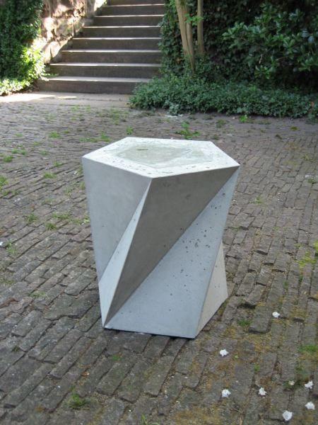 Clube do concreto banco concreto cimento pinterest - Bancos de cemento ...