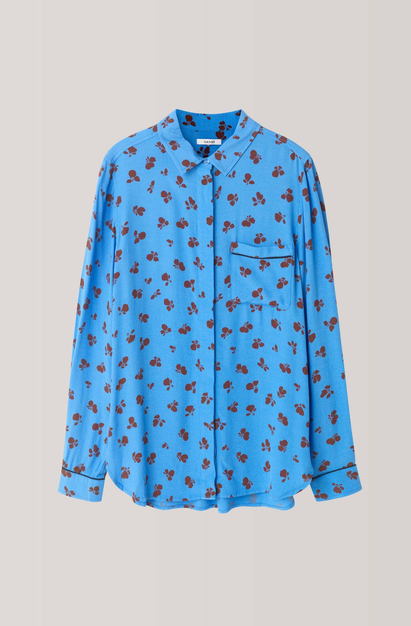 roseburg crepe shirt marina